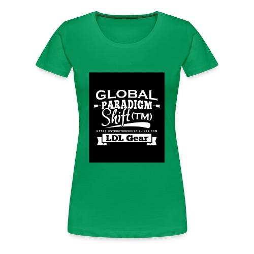 Global Paradigm Shift - Women's Premium T-Shirt
