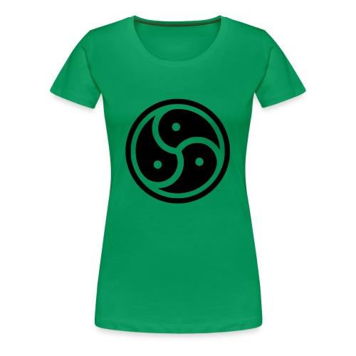 Kink Community Symbol - Women's Premium T-Shirt