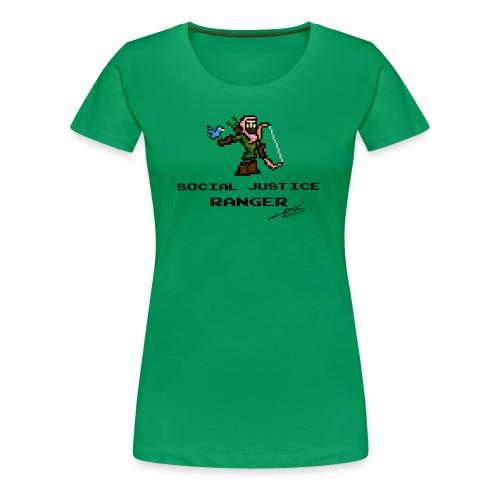 Social Justice Ranger - Women's Premium T-Shirt