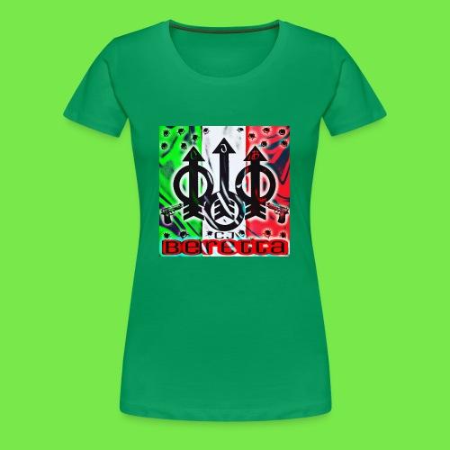 CJ Beretta - Women's Premium T-Shirt