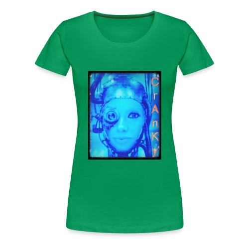 Cranky - Women's Premium T-Shirt