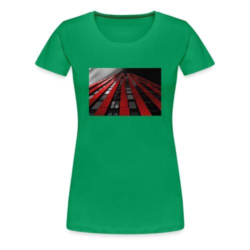 red, black & white - Women's Premium T-Shirt