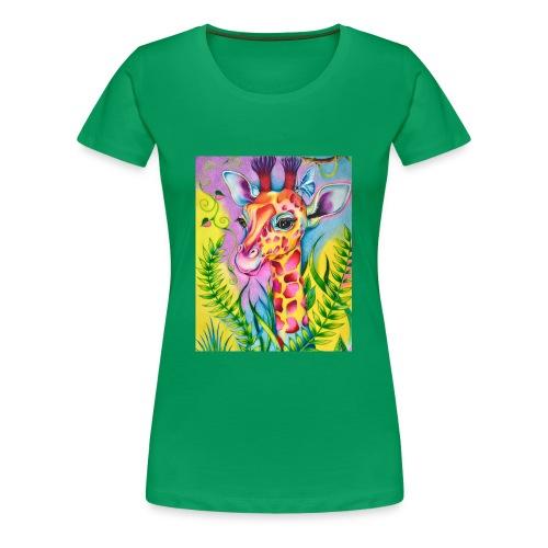 Spring Giraffe Hoodie - Women's Premium T-Shirt