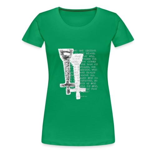 Antichrist design 1 - Women's Premium T-Shirt