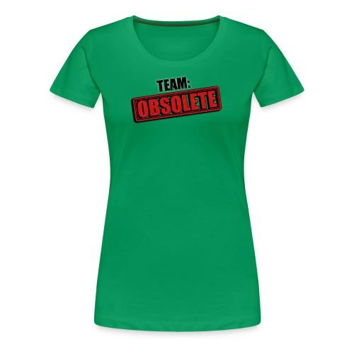 team obsolete trans - Women's Premium T-Shirt
