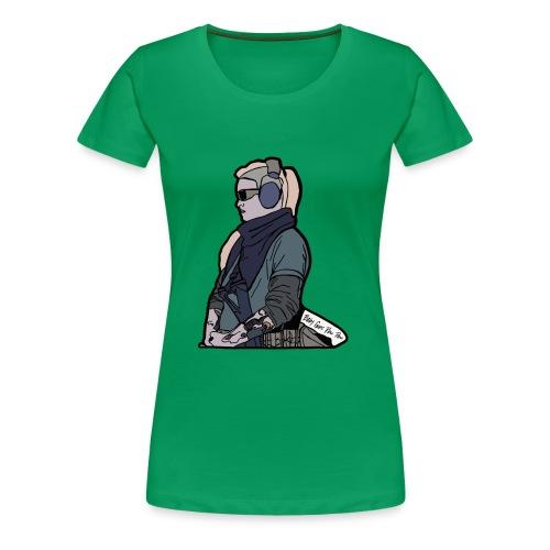 Baby Goes Pew Pew - Women's Premium T-Shirt