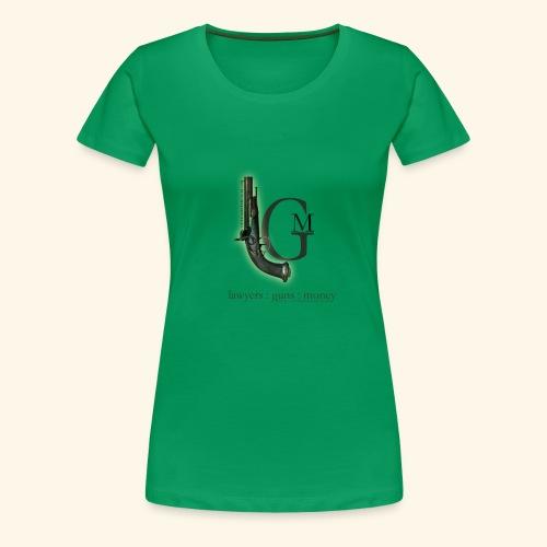 Lawyers, Guns and Money Logo - Women's Premium T-Shirt