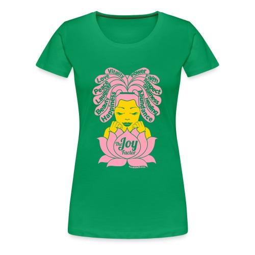 The Joy Factor Of Many Colors - Women's Premium T-Shirt