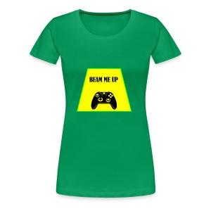 beam me up 1 - Women's Premium T-Shirt