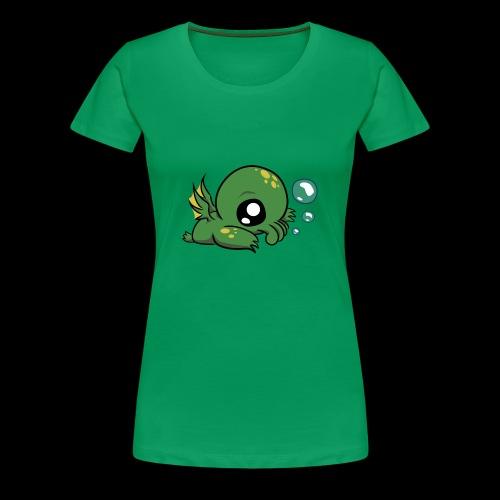 The baby cthulhu - Women's Premium T-Shirt