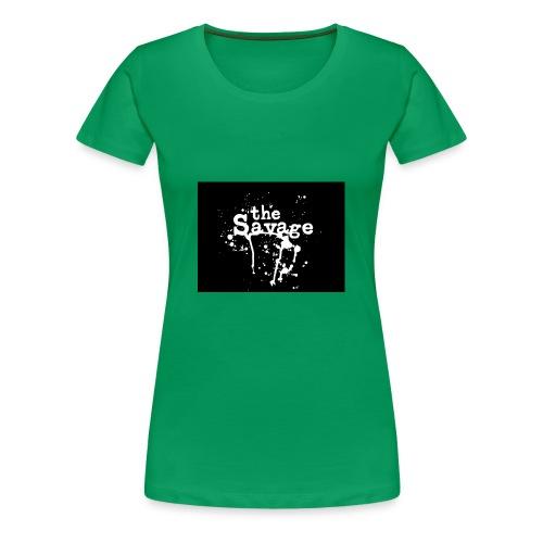 the savage - Women's Premium T-Shirt
