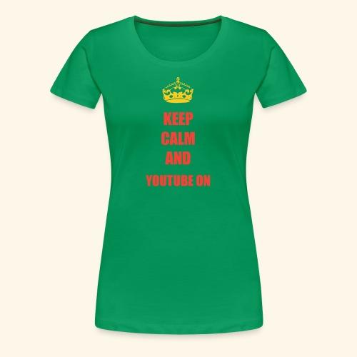 Luis 270 KEEP CALM - Women's Premium T-Shirt