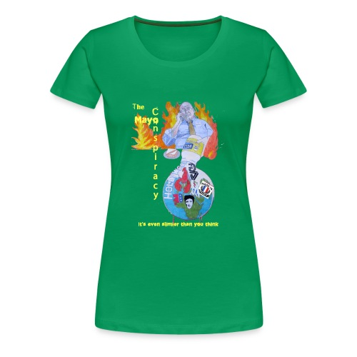 Mayo-Conspiracy - Women's Premium T-Shirt