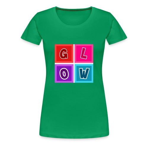 Glow Blocks - Women's Premium T-Shirt