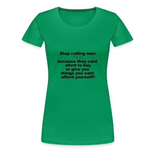 broke - Women's Premium T-Shirt