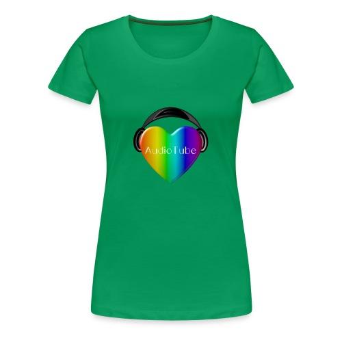 I LOVE AudioTube - Women's Premium T-Shirt