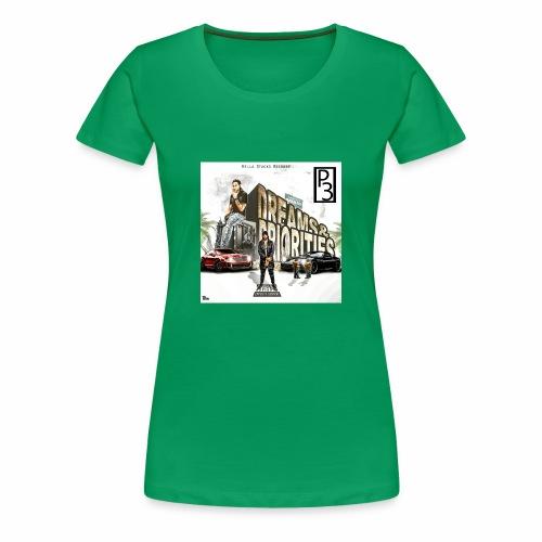 p3 mixtape cover - Women's Premium T-Shirt