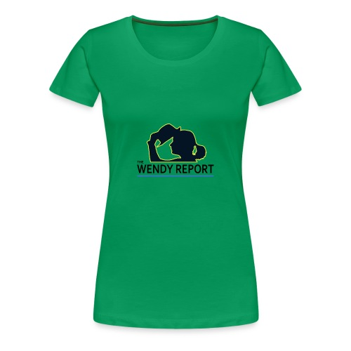 The Wendy Report Logo - Black - Women's Premium T-Shirt