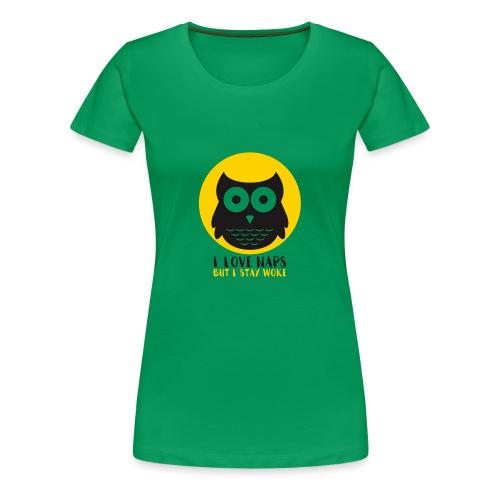 I Love Naps - Women's Premium T-Shirt