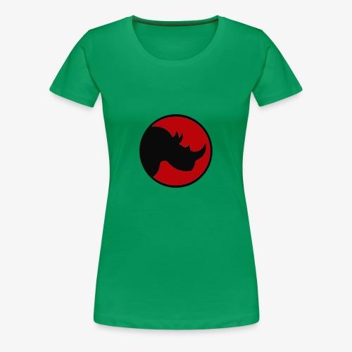 rhino logo - Women's Premium T-Shirt