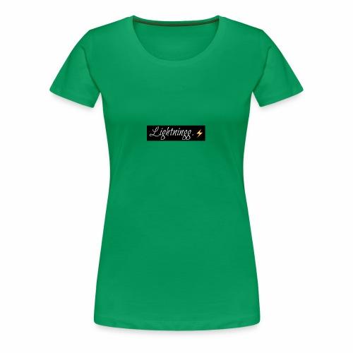 Lightning - Women's Premium T-Shirt