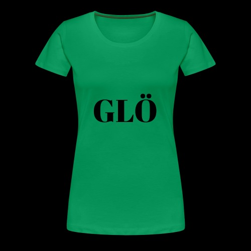 GLÖ BLACK - Women's Premium T-Shirt