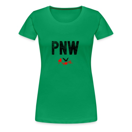 Pnw Gift Idea, Pacific Northwest the Evergreen Tre - Women's Premium T-Shirt