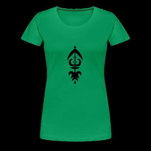 Symbol - Women's Premium T-Shirt