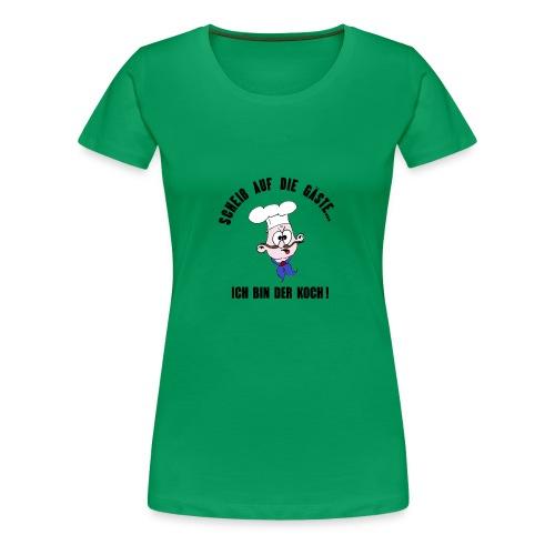 koch restaurant weihnachten gaeste - Women's Premium T-Shirt