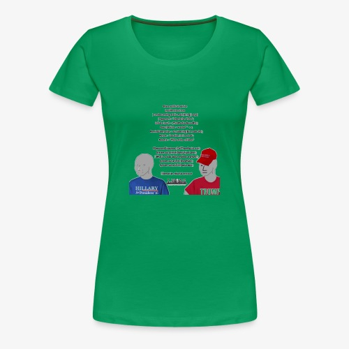Character Who Is Not Played By A Person Meme - Women's Premium T-Shirt