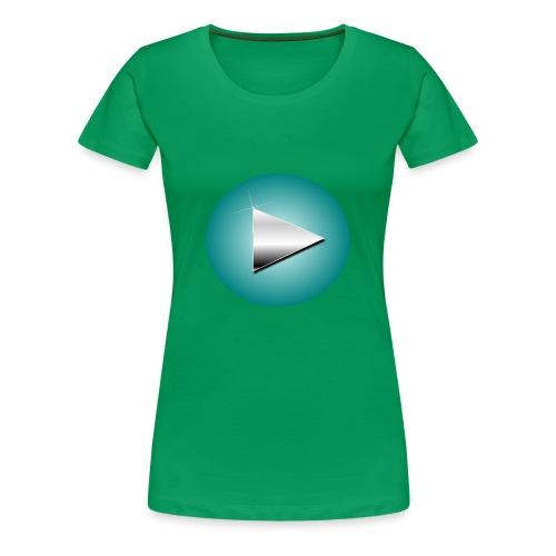PlayLogo - Women's Premium T-Shirt