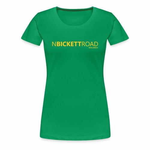 North Bickett Rd - Women's Premium T-Shirt