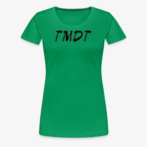 Official TMDT brand logo. - Women's Premium T-Shirt