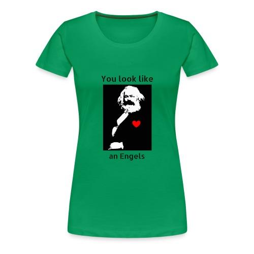 Marx_love_Shirt - Women's Premium T-Shirt