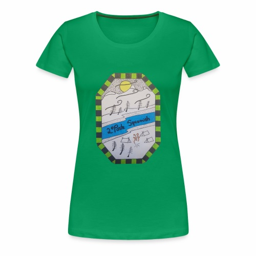 2nd position Squamish Hull - Women's Premium T-Shirt