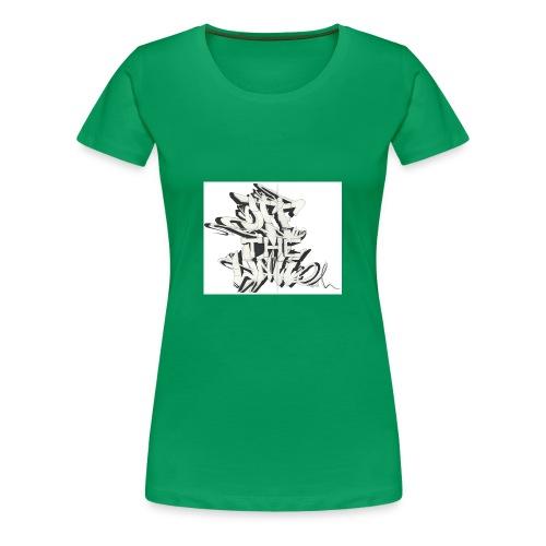 otw_final_graffiti_1 - Women's Premium T-Shirt