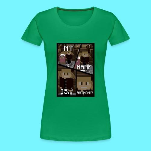 iDMC Comic Strip - Women's Premium T-Shirt