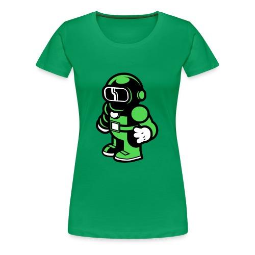 Space Astronaut - Women's Premium T-Shirt
