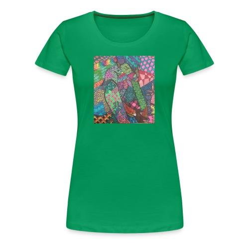 Zentangle Rip - Women's Premium T-Shirt