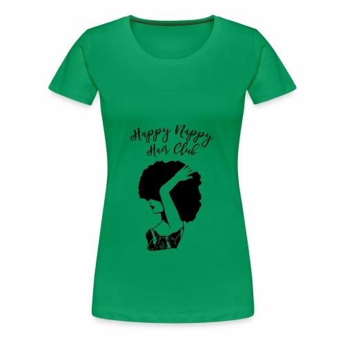 Happy Nappy Hair Club Premium Tee - Women's Premium T-Shirt