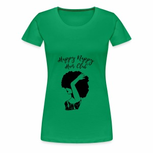 Happy Nappy Hair Club Premium Tee - Women's Premium T-Shirt