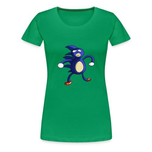 Sanic - Women's Premium T-Shirt