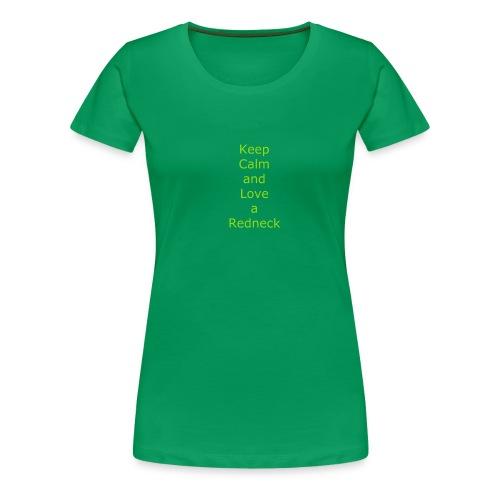 Keep_Calm_and_Love_a_Redneck - Women's Premium T-Shirt