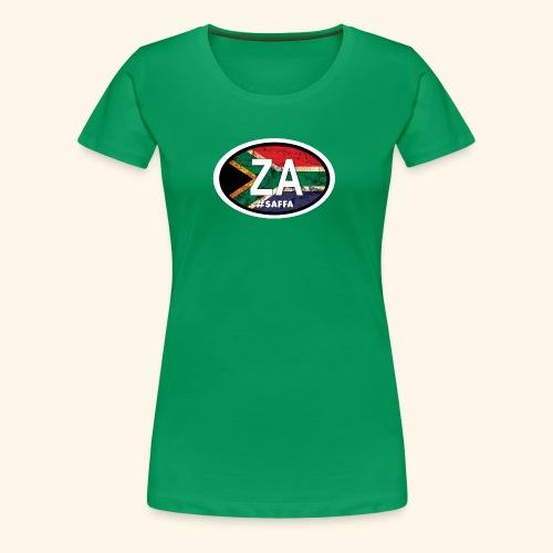 ZA#saffa - Women's Premium T-Shirt