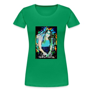 Carli Is TemperMental - Women's Premium T-Shirt