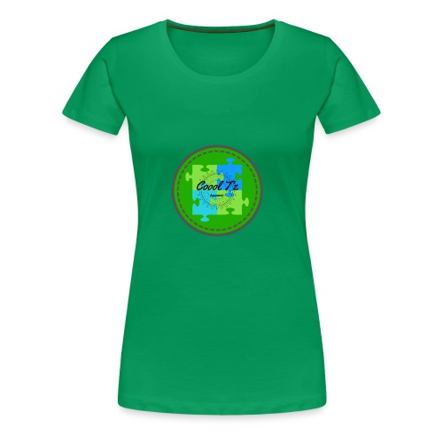 Coool T'z Green - Women's Premium T-Shirt