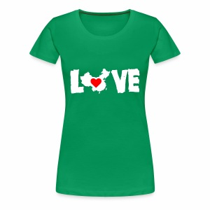 Love China White - Women's Premium T-Shirt