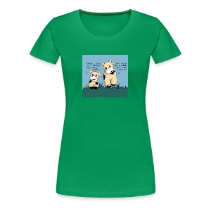 cow tales - Women's Premium T-Shirt