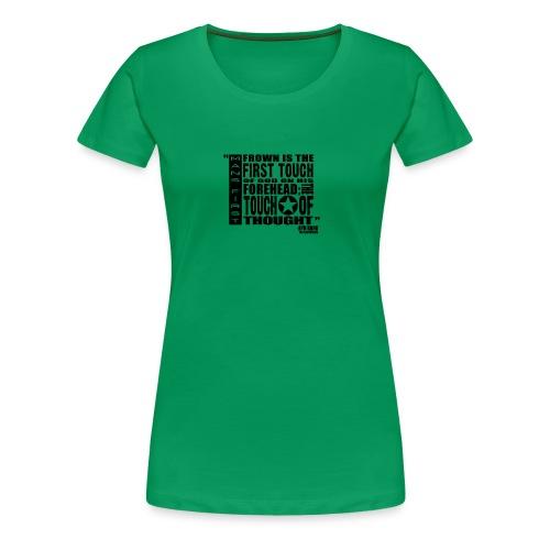 Man First Touch Of God - Women's Premium T-Shirt