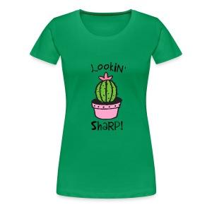 Lookin' Sharp - Women's Premium T-Shirt